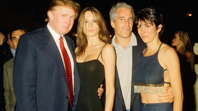Фокс нюз се извини за премахване на Тръмп от снимка с Епстийн и Максуел