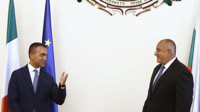 Ди Майо към Борисов: България се справи много добре с кризата