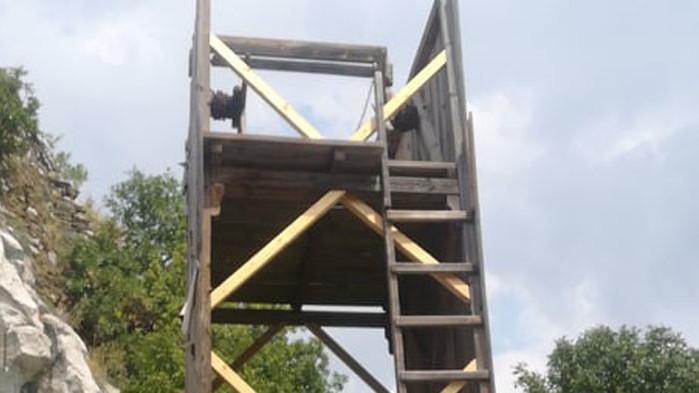 Отремонтирана е стенобойната кула при НПК Асенова крепост