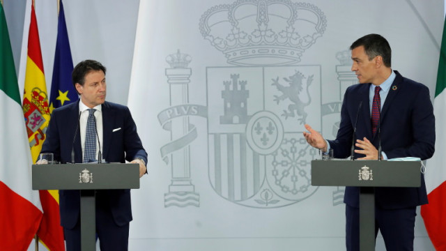 """Италия и Испания притискат """"пестеливата четворка"""" за финансовия пакет за възстановяване"""