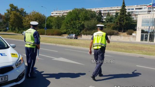 Задържаха 17-годишен водач, опитал да избяга от Пътна полиция-Варна