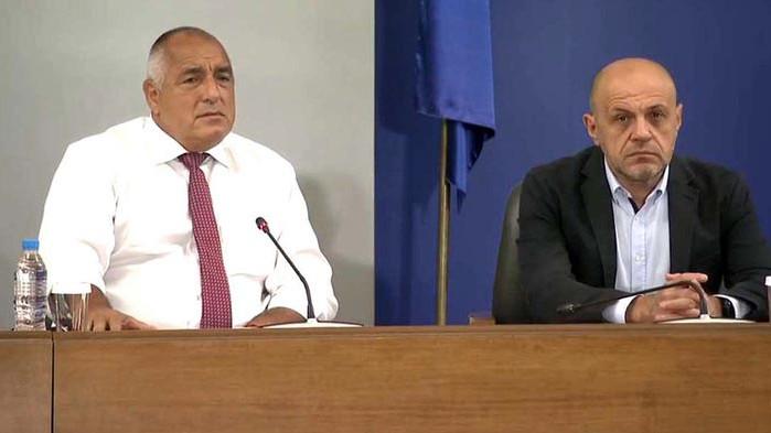 Борисов: Ние затваряме дискотеки, а президентът Радев прави протести!