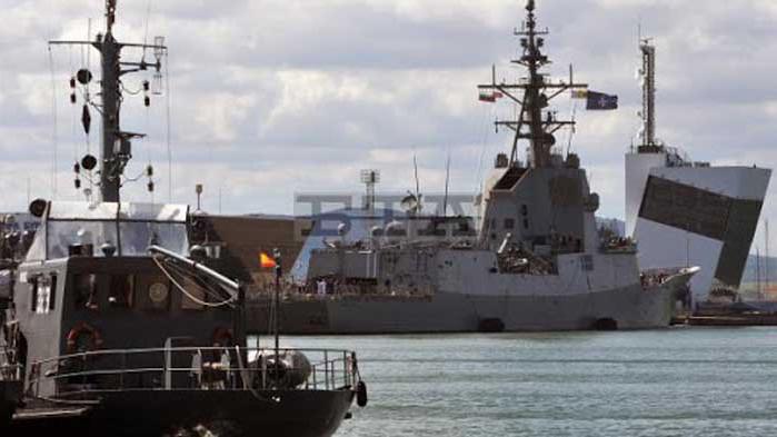 "Започна националното военноморско учение с международно участие ""Бриз 2020"""
