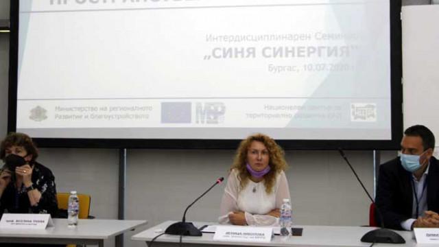 Зам.-министър Николова: С морския пространствен план целим баланс в развитието на Черноморието