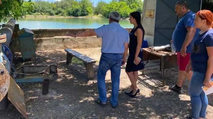 В Каварна заработи нова вертикална помпа за напояване