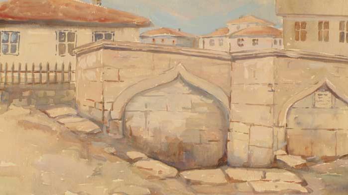 """Изложба """"Стара Варна в картините на Милен Сакъзов"""" е открита в Музея на Възраждането във Варна"""