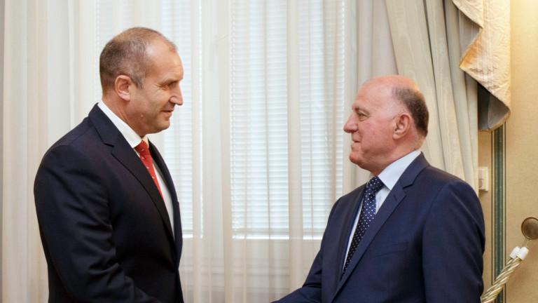 ВСС вика на среща Румен Радев