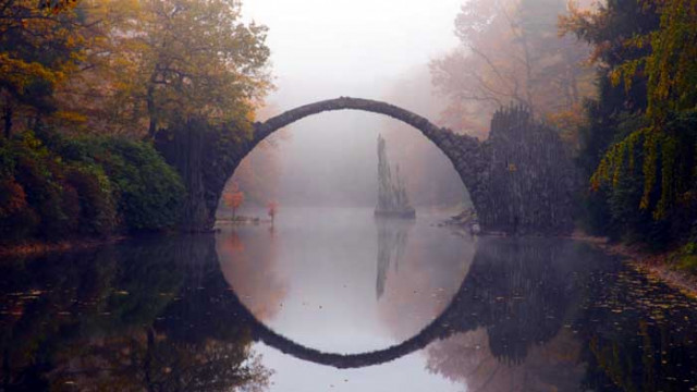 Ракоцбрюке - дяволският мост в Германия