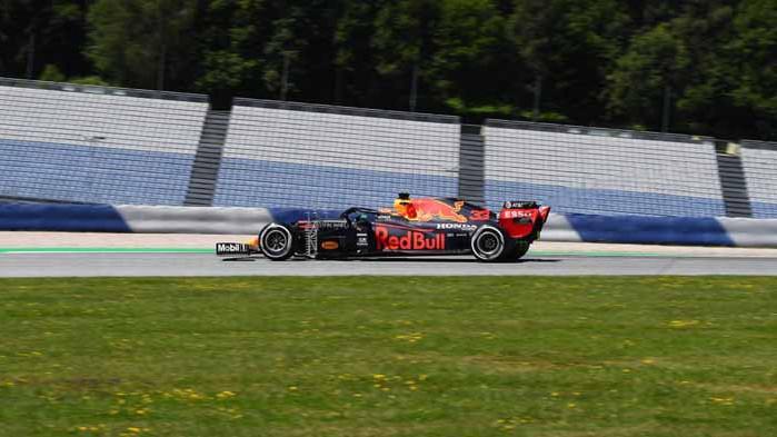 Верстапен най-бърз във втората свободна тренировка преди Гран При на Щирия
