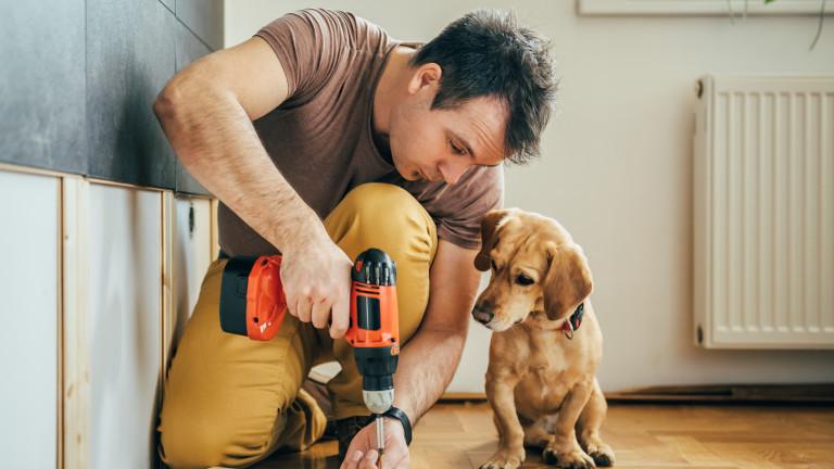 Ремонтите вкъщи, почистването, подновяването на дома и лятото