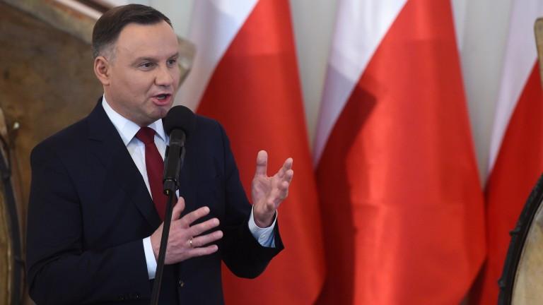 С минимална преднина Анджей Дуда печели президентските избори в Полша