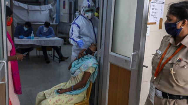 Коронавирус: За 24 часа, близо 30 000 заразени в Индия