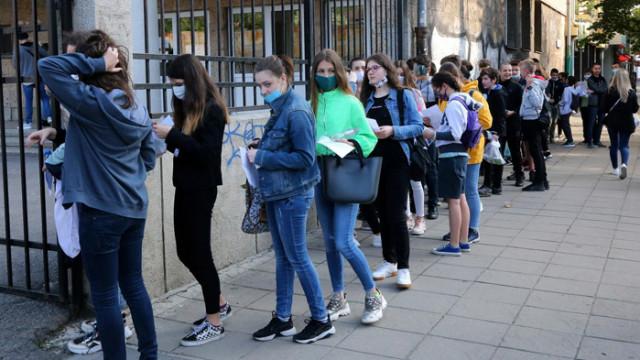 1206 ученици не са приети след първо класиране за 8 клас
