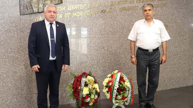 Валентин Колев почете паметта на Игнат Канев