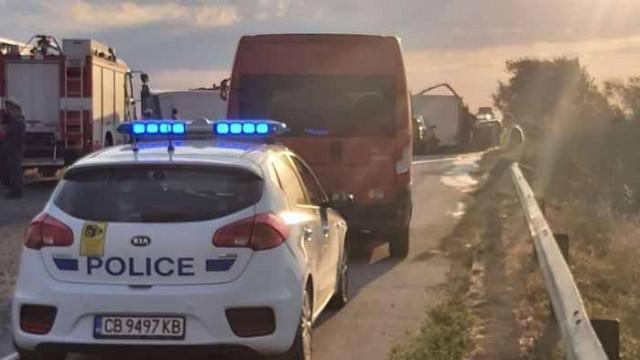 """АПИ: Мантинелата не е причина за катастрофата на АМ """"Тракия"""" в неделя"""
