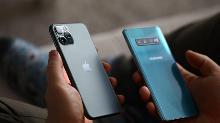 Apple, Samsung, iPhone, OLED екраните и защо Купертино плаща на корейската компания