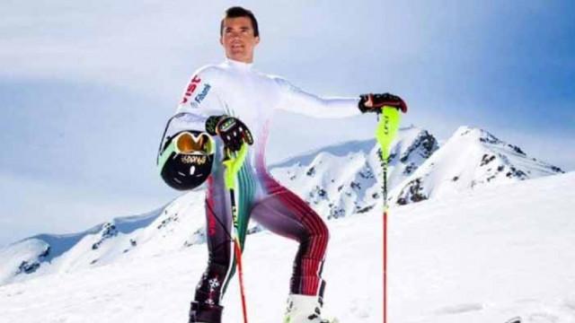 Алберт Попов направи първа тренировка на сняг