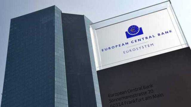 ЕЦБ оставя основните лихвени проценти непроменени