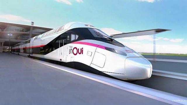 """""""Влакът на бъдещето"""" ще смае света за Олимпиадата в Париж 2024 (ВИДЕО)"""