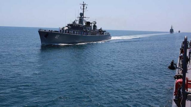 "Висока оценка за Военноморските сили след учението ""Бриз 2020"""