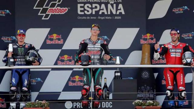 Куартараро спечели дебютен успех в MotoGP в първия старт за сезон 2020
