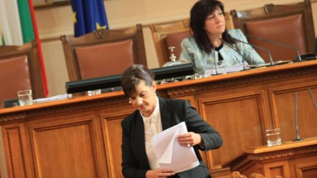 Даниела Дариткова: Не е легитимна претенцията на президента за цялата власт