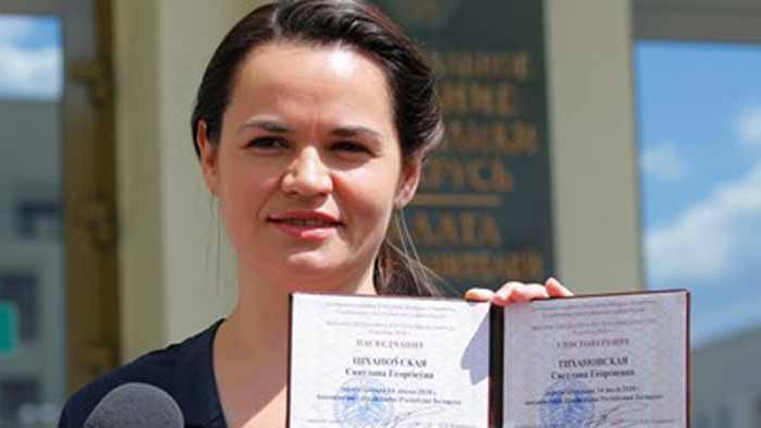 Кандидатката на президент на Беларус изведе децата си от страната