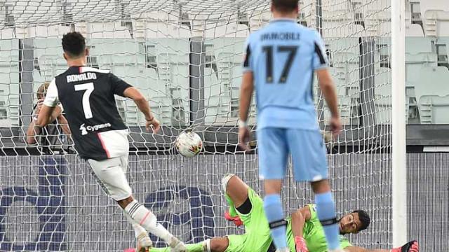 Ювентус надви Лацио с голове на Роналдо