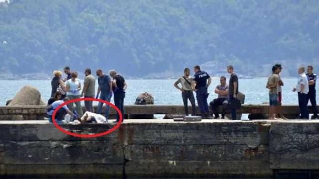 Заплита се случаят около мъртвеца, открит по обед днес на Първа буна във Варна