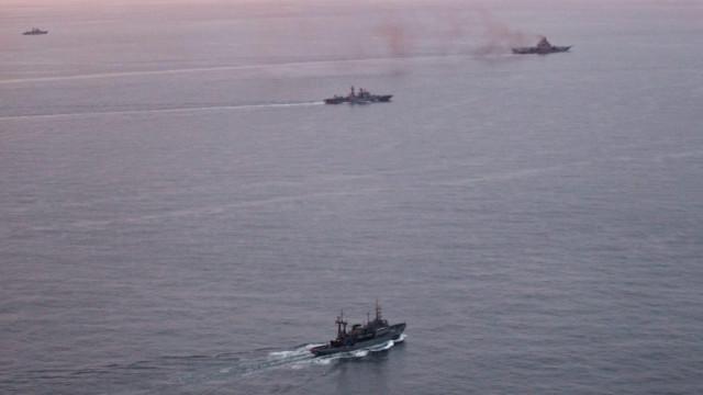 Русия следи корабите и самолетите на НАТО, участващи във военни учения в Черно море