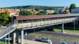 Възстановено е частично осветлението по Аспарухов мост, работата продължава