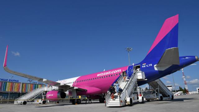 Wizz Аir с трети самолет и 9 нови маршрута през юли от летище Варна