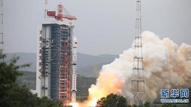 Китай изстреля нов картографски спътник