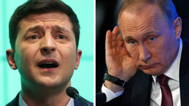 Путин и Зеленски доволни от нови мерки за прекратяване на огъня в Донбас