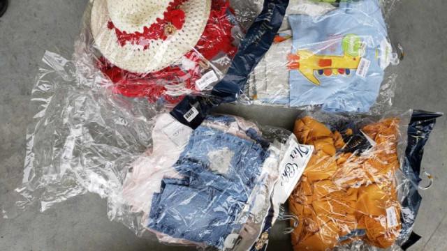 """Митничари иззеха над 26 000 текстилни изделия на МП """"Капитан Андреево"""""""