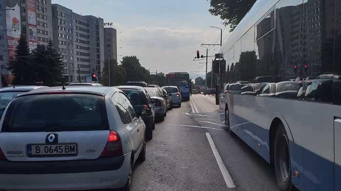 Вдигнаха блокадата на Аспаруховия мост
