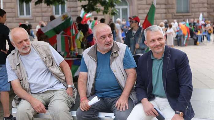 """""""Епицентър"""": """"Отровното трио"""" се гласи да прави партия от протестите с лидер Хаджигенов"""