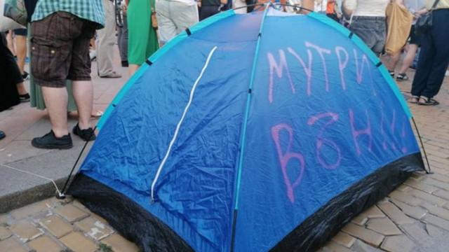 Палатки са блокирали трафика, СДВР предупреждава, че е възможна саморазправа на шофьори