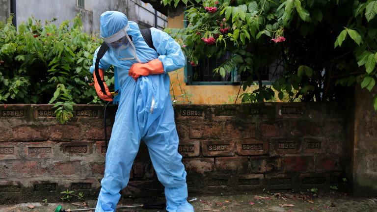 Коронавирус: За първи път Индия отчете над 50 000 случая