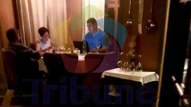 Идолите на протестиращите Хр. Иванов и Иво Мирчев на луксозна вечеря, а хората им са на амбразурата