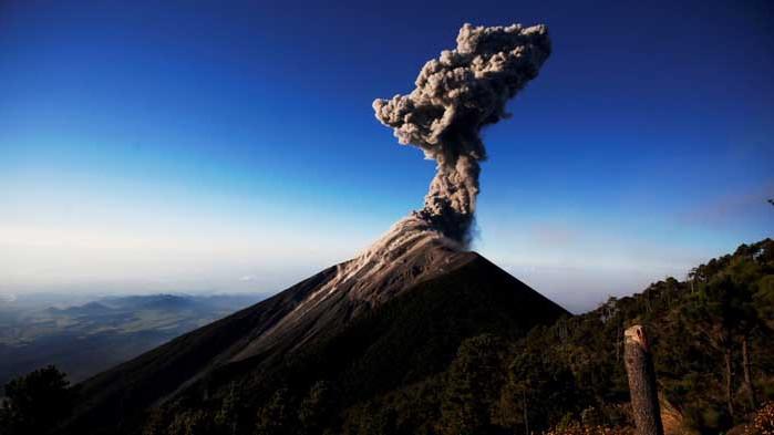 Вулканични изригвания са причинили ледниковия период