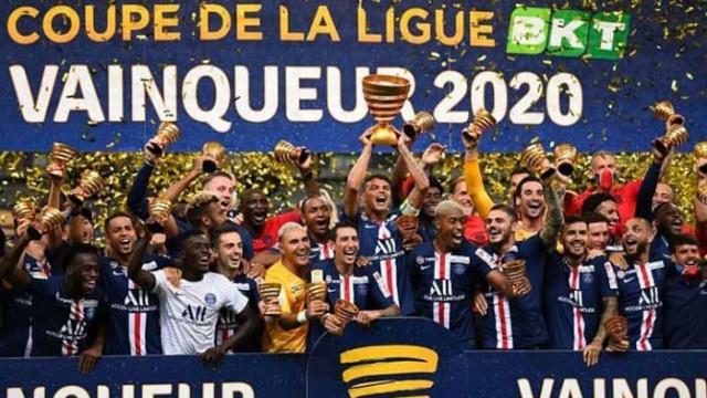 ПСЖ с трета купа за сезона във Франция