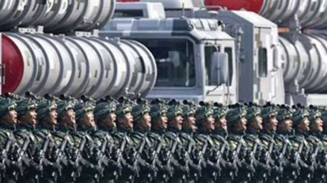 Китай ще продължи с модернизацията на своята отбрана и въоръжени сили