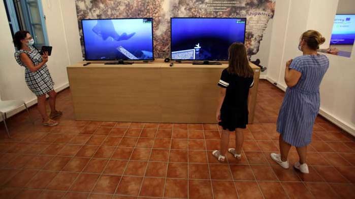 Гърция откри първия по рода си подводен музей