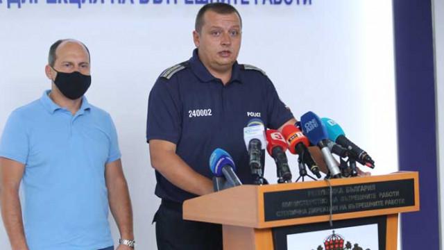 СДВР определи поведението на протестиращите снощи като провокация към полицията