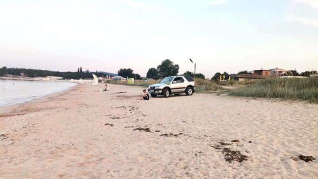 """И полицаите откриха множество нарушения на плаж """"Крапец-север"""""""