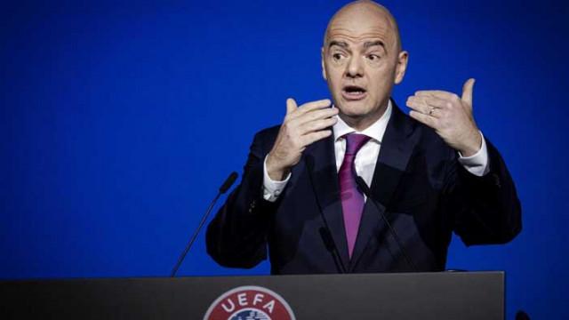 ФИФА реагира остро на разследването срещу Инфантино