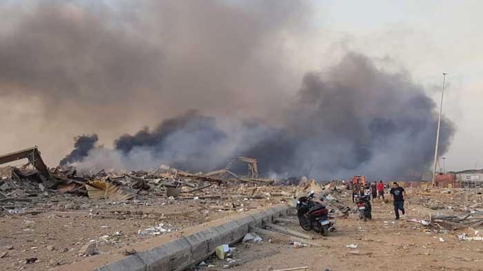 Експлозии в Бейрут с жертви и ранени, съпругата и дъщерята на ливанския премиер са пострадали