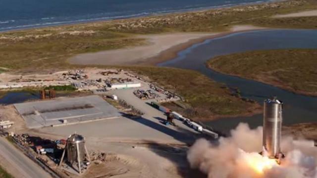 """""""Спейс Екс"""" извърши успешен тестов полет на кораб за мисии до Марс (Видео)"""