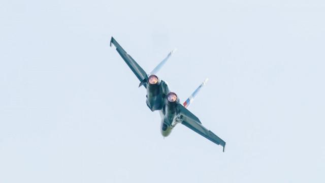 Руски Су-27 отново прогони разузнавателни самолети на САЩ над Черно море